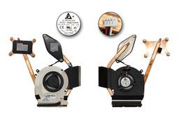 Samsung R530, R580 gyári új komplett laptop hűtés (KSB0705HA 9J58, BA81-08475A, BA62-00496A)