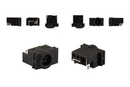 Samsung R518, R519, R520, R620, Q320, Q330, Q430 gyári új laptop DC tápaljzat (kábel nélkül)