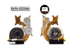 Samsung R70 laptophoz használt komplett hűtő ventilátor egység (BA96-03224A)