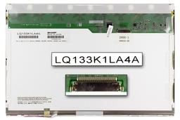 Sharp (LQ133K1LA4A) 13,3 inch gyári új fényes 20 pines CCFL laptop kijelző