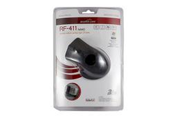 Silver Line vezeték nélküli USB fekete optikai egér, RF-411