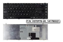 Sony Vaio PCG-391M használt UK angol laptop billentyűzet (V070978-UK, 141780321, 1-417-803-21)