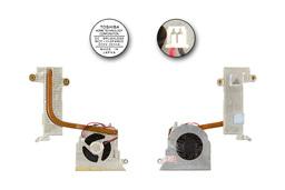Sony VAIO PCG-6G1M laptophoz használt komplett hűtő ventilátor egység (MCF-518PAM05)