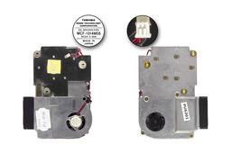 Sony VAIO PCG-833M laptophoz használt komplett hűtő ventilátor egység, MCF-1314M05
