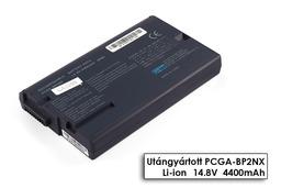 Sony Vaio PCG-FR102, PCG-FR125B, PCG-GRT100 helyettesítő új 8 cellás fekete laptop akku/akkumulátor (PCGA-BP2NX, PCGA-BP2NY)