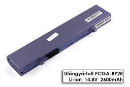 Sony Vaio PCGA-R505, PCGA-Z505, PCV-P101 helyettesítő új 4 cellás lila laptop akku/akkumulátor (PCGA-BP2R)