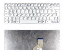 Sony Vaio SVE11 (WIN7) gyári új magyar fehér laptop billentyűzet, ezüst kerettel