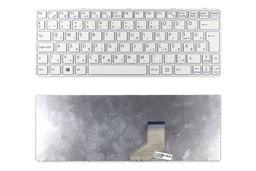 Sony Vaio SVE11 (WIN8) gyári új magyar fehér laptop billentyűzet, ezüst kerettel
