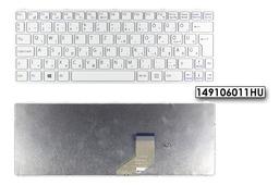 Sony Vaio SVE11 (WIN8) gyári új magyar fehér laptop billentyűzet