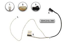Sony Vaio SVF-14 sorozatú laptopokhoz gyári új LCD kijelző kábel (14'' LED) (DD0GD5LC000)
