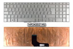 Sony VAIO SVF1521V1EB, SVF15A gyári új magyar ezüst laptop billentyűzet (149242021HU)