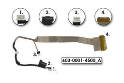 Sony VAIO VGN-NW sorozat LCD kijelző kábel, 603-0001-4500_A