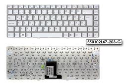 Sony Vaio VPC-EA gyári új magyar fehér keret nélküli billentyűzet (148792711)