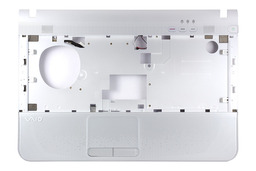 Sony Vaio VPC-EA sorozatú laptophoz gyári új fehér felső fedél touchpaddal, 012-120A-2970-A