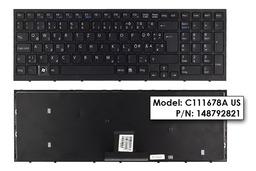 Sony Vaio VPC-EB gyári új magyarított fekete laptop billentyűzet (148792821)