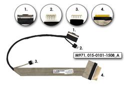 Sony Vaio VPC-EB gyári új CCFL LCD kijelző kábel (015-0101-1508_A)