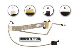 Sony Vaio VPC-EE sorozatú laptopokhoz gyári új LCD kijelző kábel (CCFL) (DD0NE7LC000)