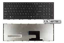 Sony Vaio VPC-EH fekete US angol laptop billentyűzet, 148970811