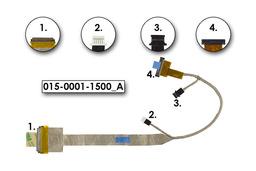 Sony Vaio VPC-F1, PCG-81213M  (Full HD) gyári új laptop LCD kijelző kábel, 015-0001-1500_A
