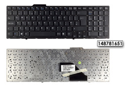 Sony Vaio VPC-F11, VPC-F12, VPC-F13 fekete UK angol billentyűzet, 148781651