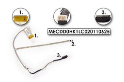 Sony Vaio VPCEH, PCG-71811M használt laptop LCD kábel, MECDD0HK1LC020110625