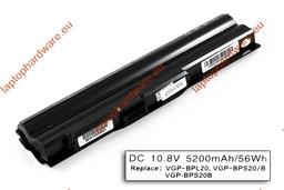 Sony Vaio VPCZ112GD-S, VPCZ116GX-S VGP-BPS20-B használt 90%-os, 6 cellás laptop akku.