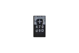 SMD Tantalum capacitor 470uf 2.5v kondenzátor