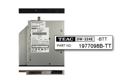 Teac DW-224E használt laptop IDE CD-RW, DVD-ROM combo meghajtó