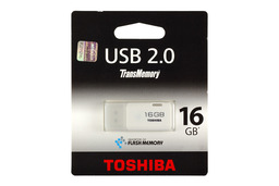 Toshiba 16GB fehér pendrive (THNU16HAY)