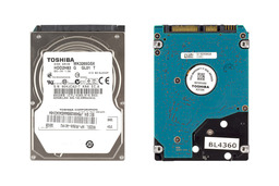 Toshiba 320GB használt 2.5 inch SATA laptop winchester (MK3265GSX)