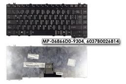 Toshiba A200, L300, M200 használt német fekete laptop billentyűzet, MP-06866D0-9304