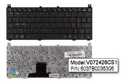 Toshiba Mini NB100, NB105 gyári új francia laptop billentyűzet (V072426CS1)