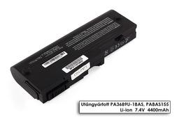 Toshiba Mini NB100, NB105 helyettesítő új 4 cellás laptop akku/akkumulátor (PA3689U-1BRS)