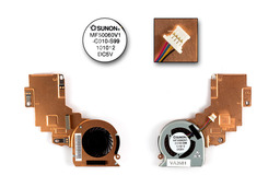 Toshiba Mini NB500, NB505 gyári új netbook hűtő ventilátor (MF50060V1-C010-S99)