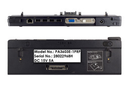 Toshiba Portege A600, R500, R600 dokkoló, PA3603E-1PRP - Akciós