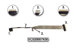 Toshiba Satelite M100, M105 laptop LCD kábel, DC020007K00