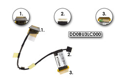 Toshiba Satelite T130 laptop LCD kábel, DD0BU3LC000