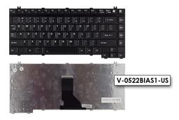 Toshiba Satellite 1130, 2400, A50 gyári új US angol laptop billentyűzet (V-0522BIAS1-US)