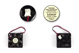 Toshiba Satellite 300CDS használt laptop hűtő ventilátor (D30M05P)