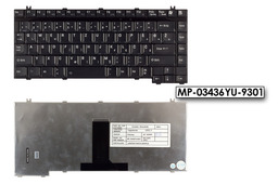 Toshiba Satellite A100, Equium A100, Tecra A5 gyári új szlovén laptop billentyűzet (MP-03436YU-9301)
