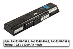 Toshiba Satellite L500 laptop akkumulátor, gyári új, 6 cellás (3620mAh)