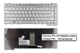 Toshiba Satellite L300 sorozat ezüst magyar laptop billentyűzet