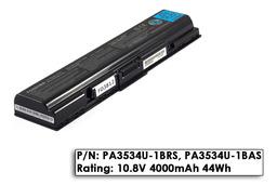 Toshiba Satellite A200, A300, L500, M200 használt gyári 90%-os 6 cellás laptop akku/akkumulátor (PA3534U-1BRS)
