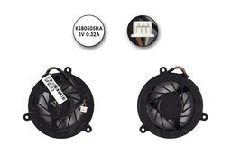 HP ProoBook 4410s, Toshiba Satellite M300 (discrete) gyári új laptop hűtő ventilátor (KSB0505HA-7K99, KSB0505HA-7K25)