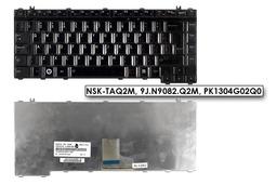 Toshiba Satellite A300, M300, L300 használt kanadai (angol/francia) fényes fekete laptop billentyűzet (NSK-TAQ2M)