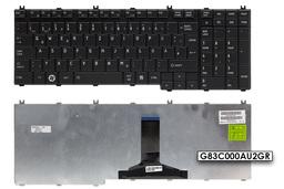 Toshiba Satellite A500, A505, L505 gyári új német matt fekete laptop billentyűzet (G83C000AU2GR)