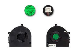 Toshiba Satellite A660, C650, C660, C665 gyári új laptop hűtő ventilátor (AB7905MX-EB3)