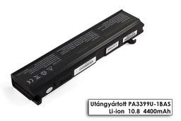 Toshiba Satellite A80, A135, M100 helyettesítő új 6 cellás laptop akku/akkumulátor (PA3399U-1BRS)