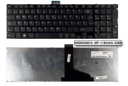 Toshiba Satellite C55 sorozatú laptophoz gyári új fekete magyar billentyűzet (H000054810, MP-11B56HU-528B)
