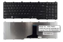 Toshiba Satellite C650, C660, L650, L750 gyári új US angol matt fekete laptop billentyűzet